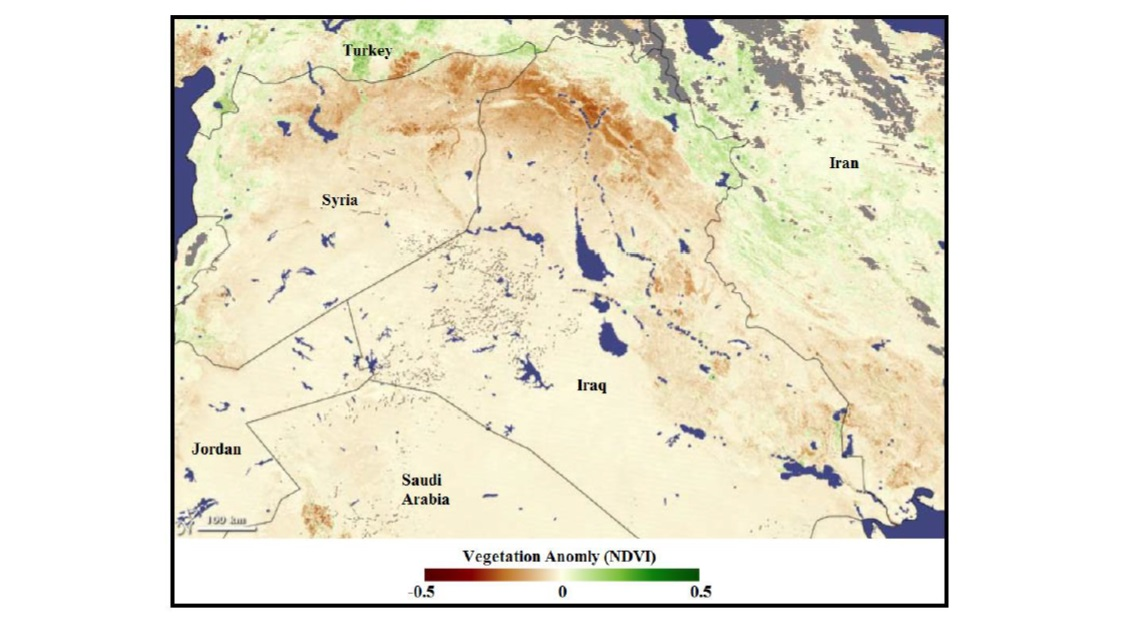 Geopolitics of the Tigris and Euphrates Basins
