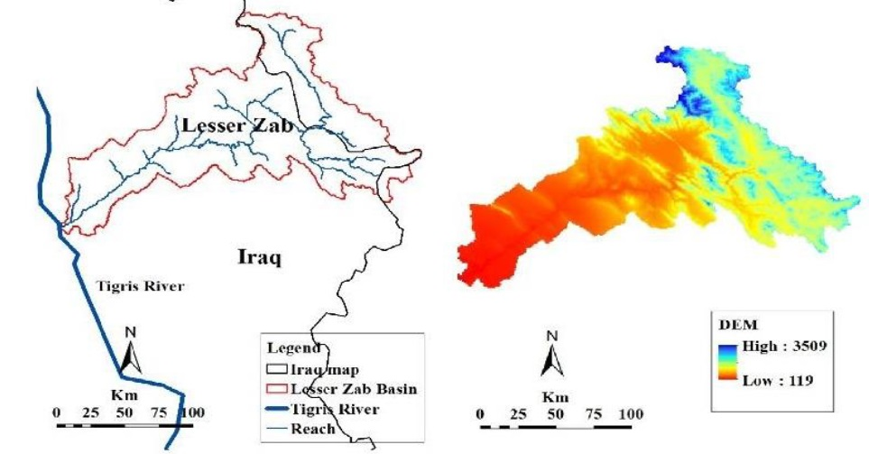 Climate Change: The Uncertain Future of Tigris River Tributaries' Basins