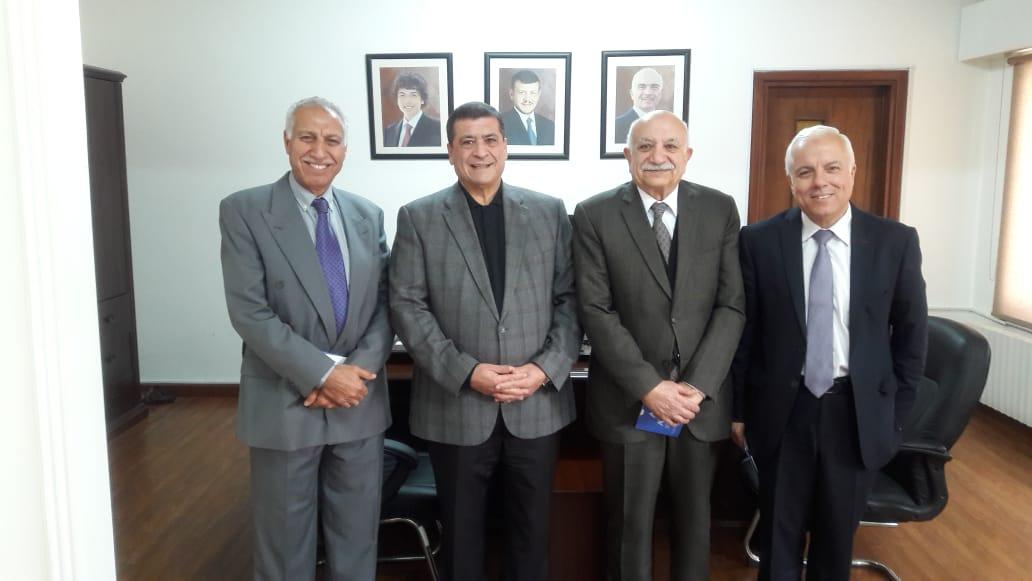 زيارة الجمعية العربية للمياه في عَمَان