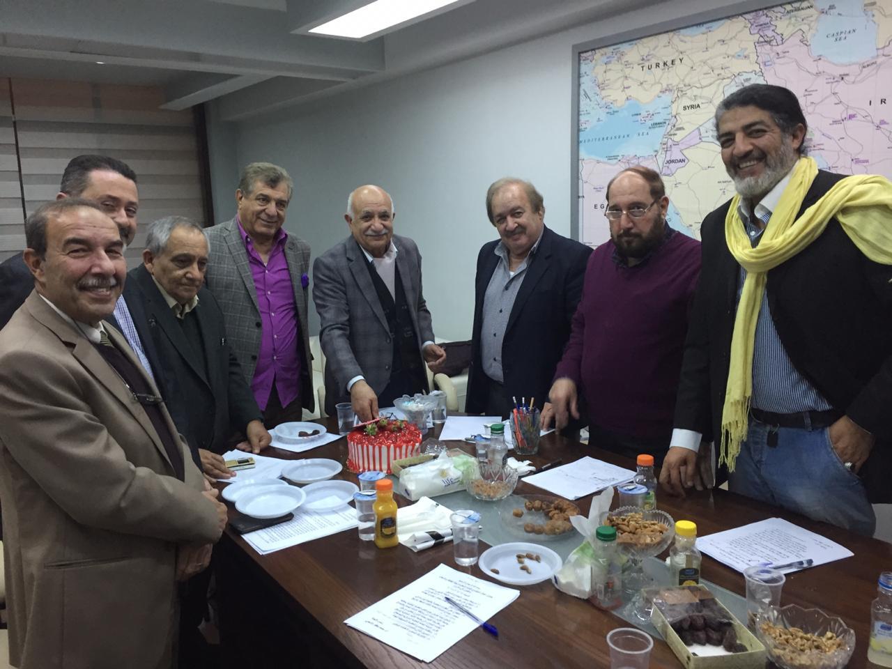 لقاء لجنة الثقافة والاعلام مع السيد الامين العام
