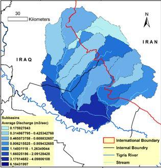 الاستغلال الأمثل لمياه الوديان الشرقية للعراق