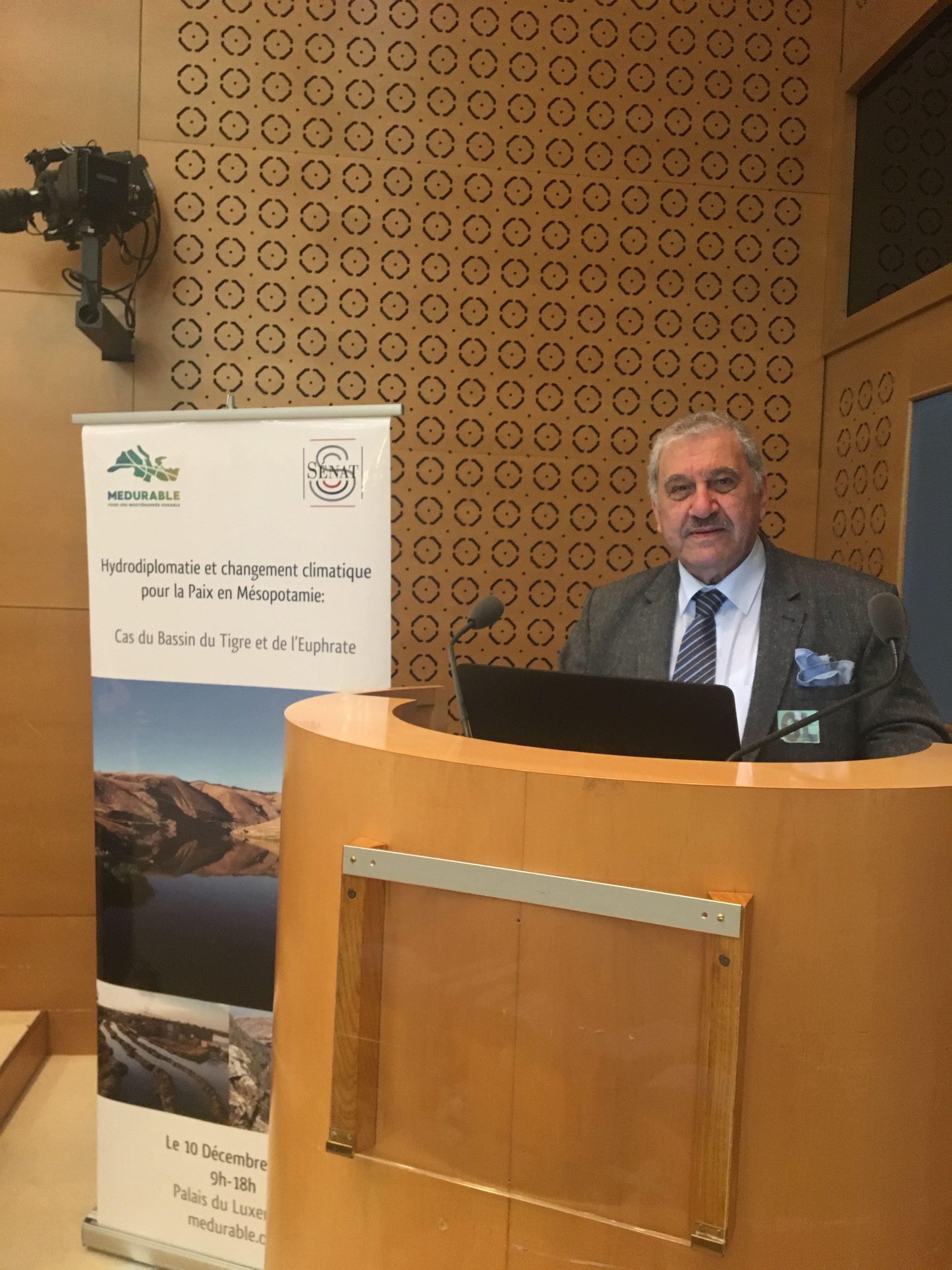 مشاركة المنتدى في مؤتمر دبلوماسية المياه