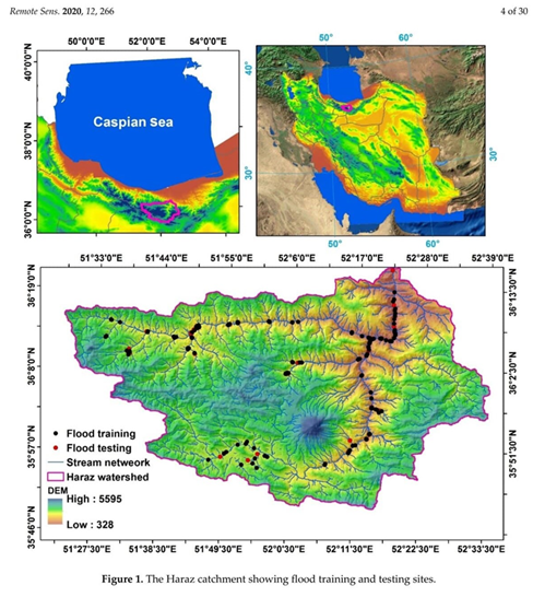 Flood Detection and Susceptibility Mapping Using Sentinel-1 Remote Sensing Data and a Machine Learning Approach: Hybrid Intelligence of Bagging Ensemble Based on K-Nearest Neighbor Classifier