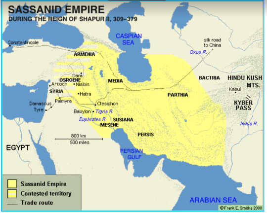 The Greeks and the Sassanids - A new Glorious Era for Agriculture (330-625 AD)